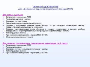 Детская карта список документов