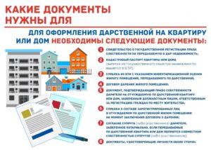 Какие документы нужны для дарственной квартиры