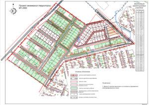 Пример проекта планировки территории и проекта межевания территории