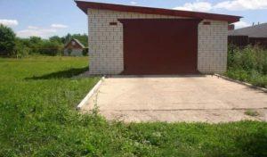 В собственность земля под гаражом в