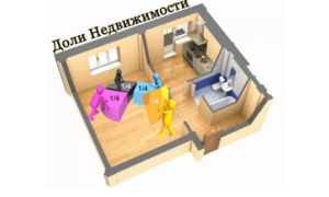 Деление дома на доли