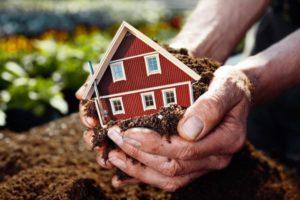 Садовый дом оформить в собственность