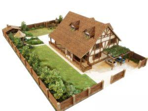 Участке как построить дом на садовом участке