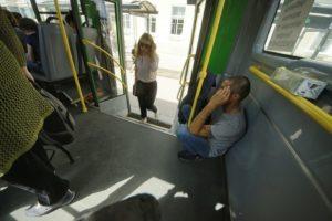Проезд в автобусе бесплатный