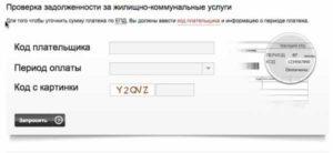 Как узнать задолженность по квартире через интернет по адресу