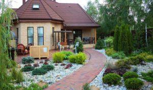 Оформление домов на дачных участках