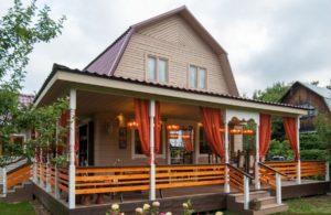 Дом на даче как оформить