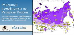 Районный коэффициент крым 2019