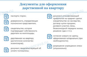 Перечень документов на дарственную квартиры