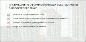 Оформление собственности на квартиру в новостройке документы в мфц