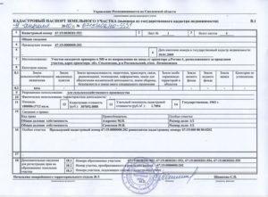 Какие нужны документы для кадастрового паспорта на земельный участок