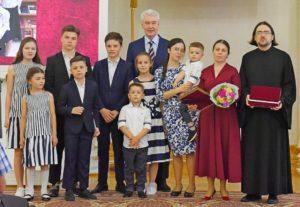 Многодетная семья москва 2021