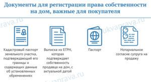 Документы необходимые для регистрации права собственности на квартиру в мфц