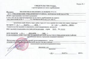 Временная Регистрация Отмечается В Паспорте Или Нет