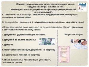Какие документы нужны для регистрации договора купли продажи квартиры в мфц
