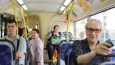 Бесплатный проезд в маршрутке